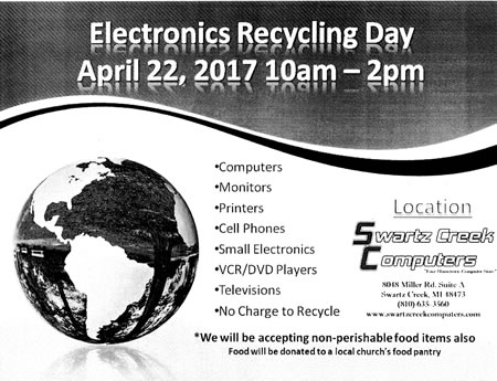 2017 Electronics Recycling Day