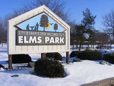 elms road park winter